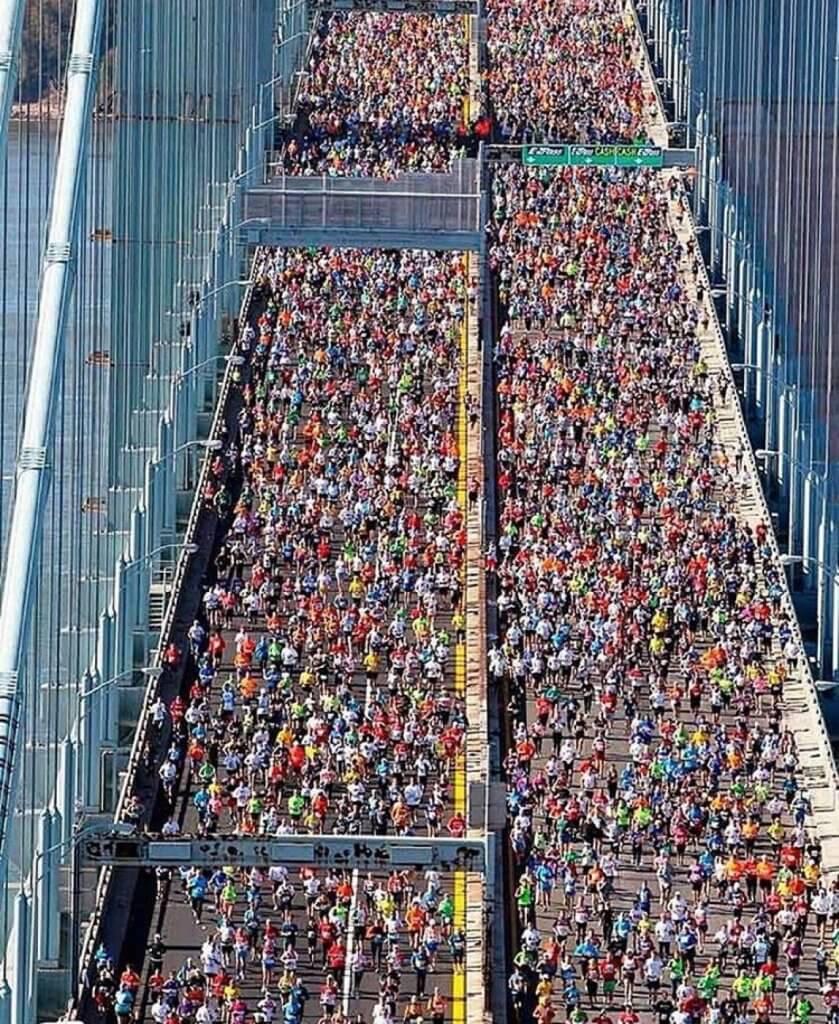 Partenza Maratona NYC