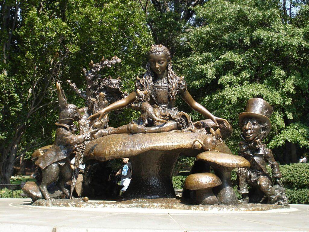 Alice in Wonderland in Central Park