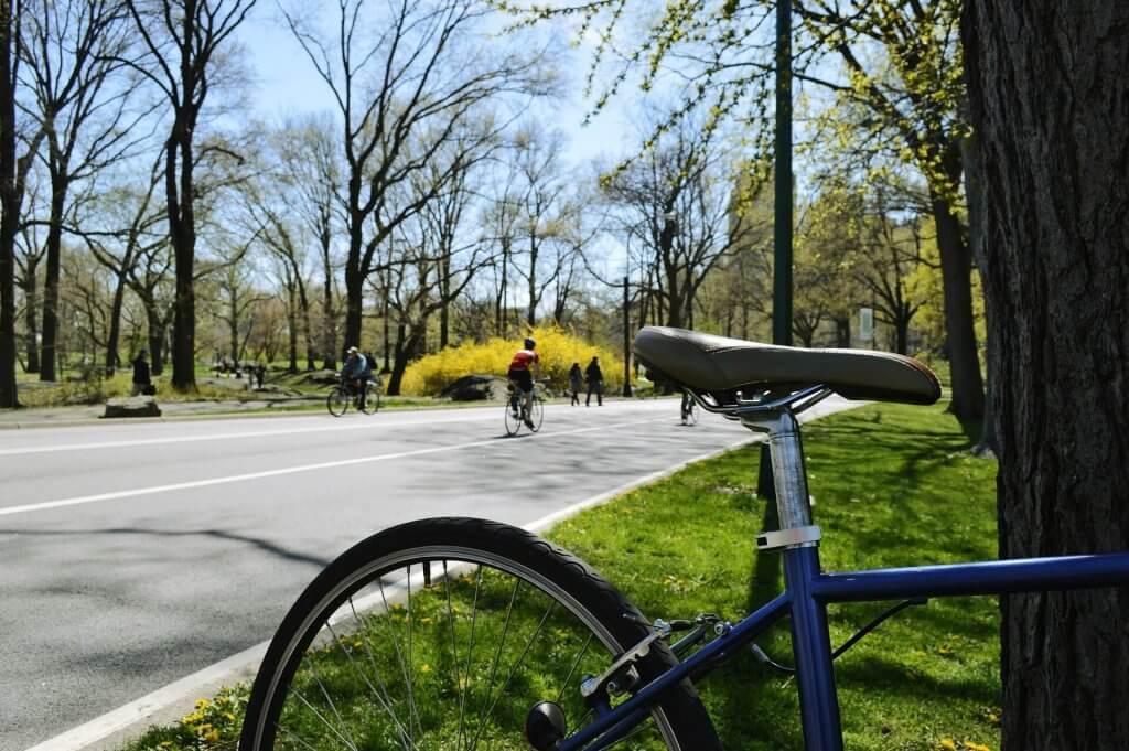Bike in Central Park