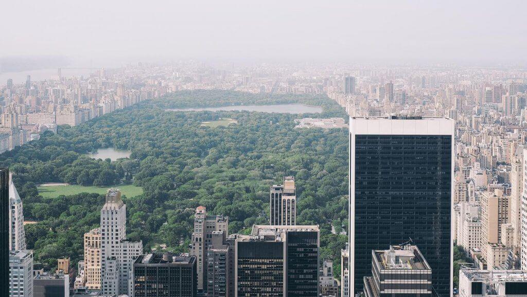 Vista su Central Park
