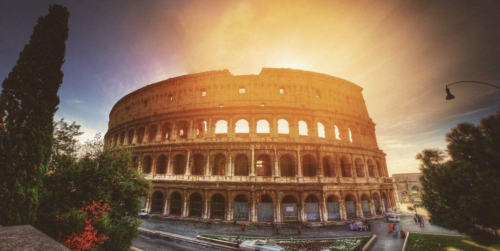 Sole al Colosseo