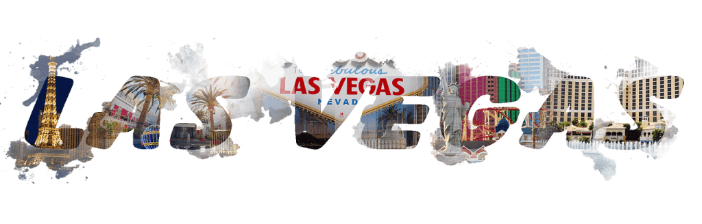 Las Vegas scritta