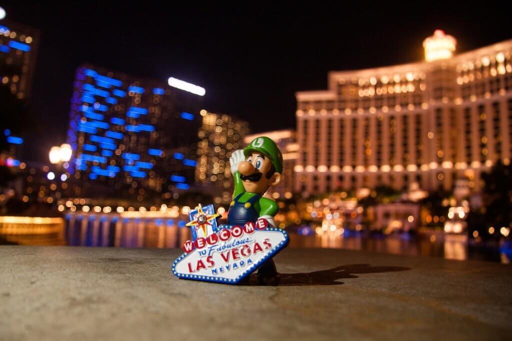 mario a Las Vegas
