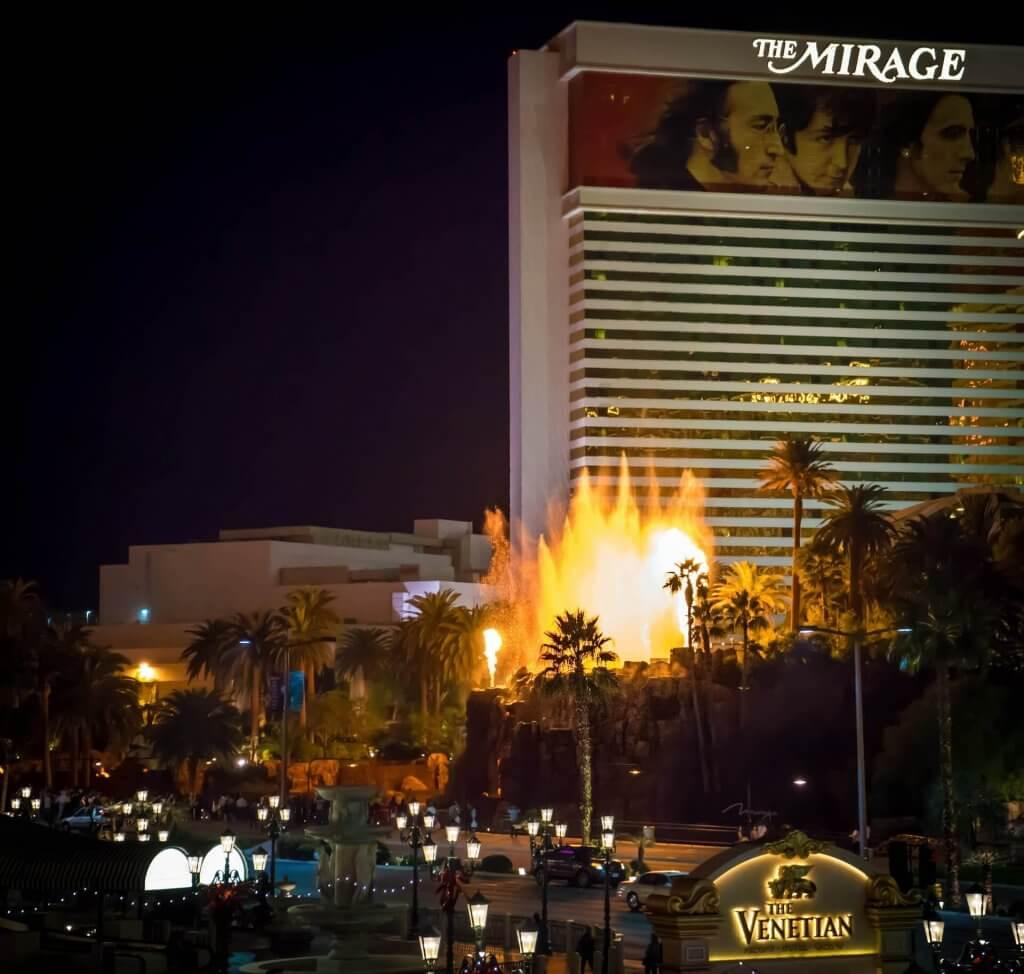 The Mirage Volcano Las Vegas