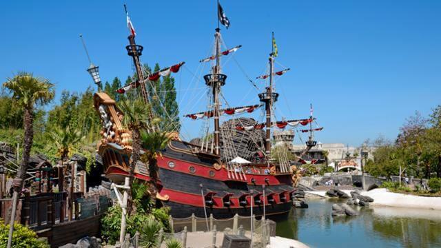 I pirati dei caraibi disneyland paris