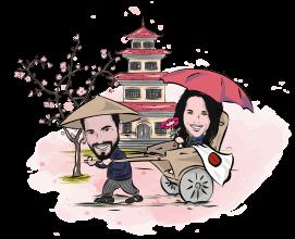 Sposi in Giappone