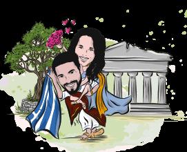 sposi in Grecia