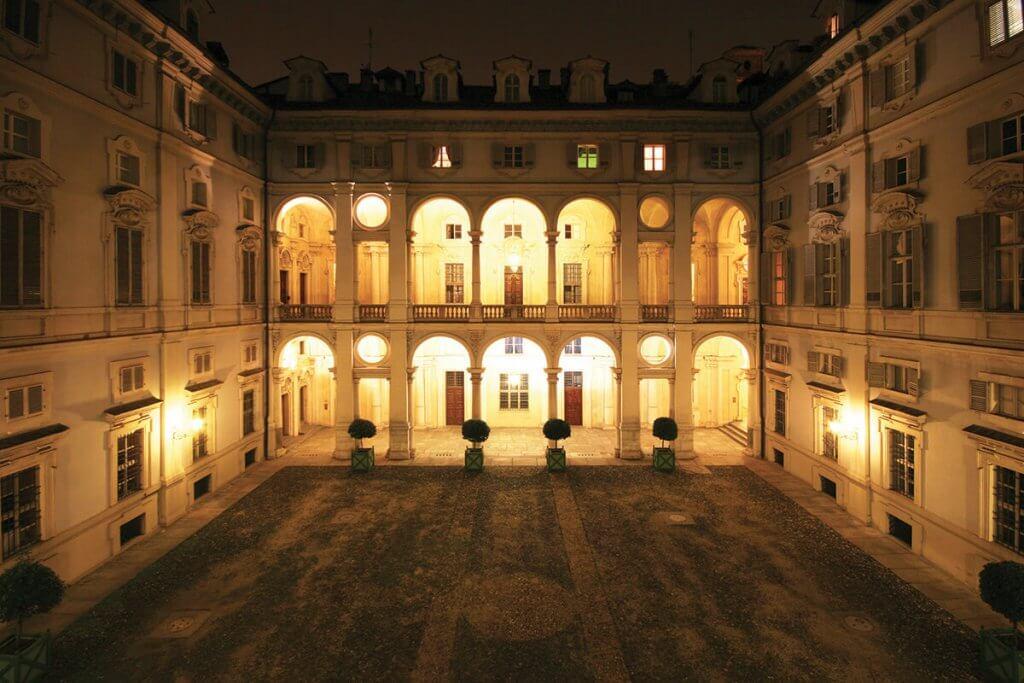 Cortile Palazzo Saluzzo Paesana