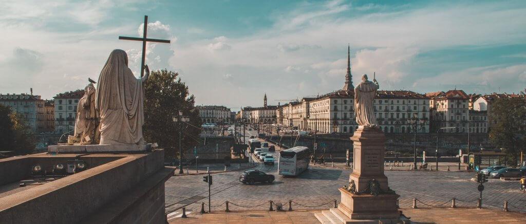 Piazza Vittorio dalla Gran Madre