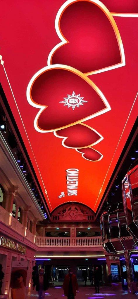 Galleria Msc Grandiosa San Valentino