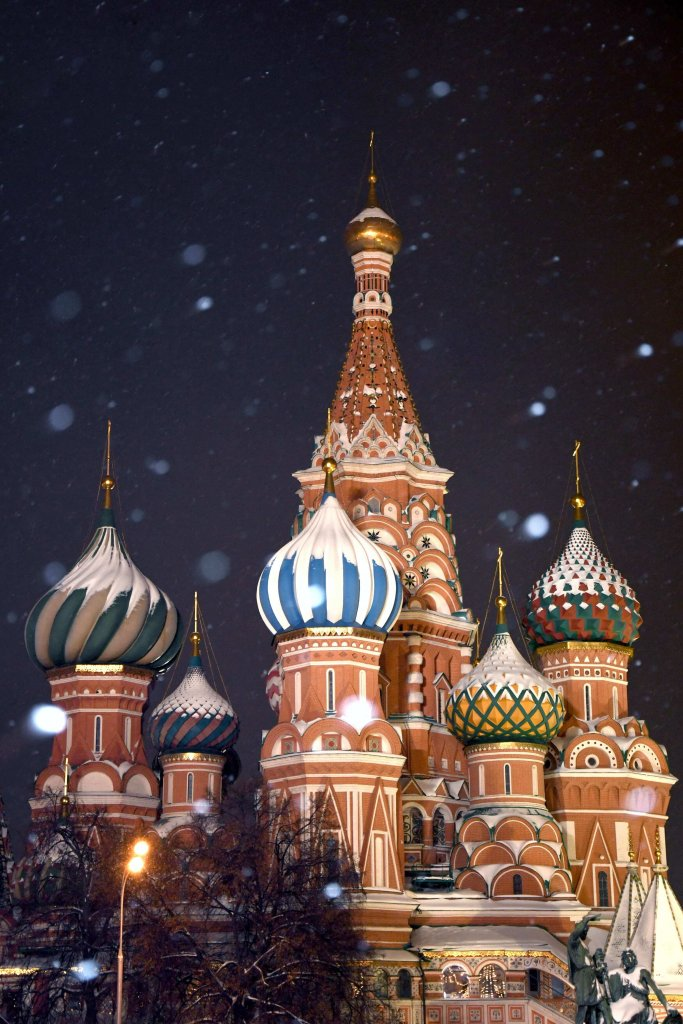 San Basilio Mosca inverno
